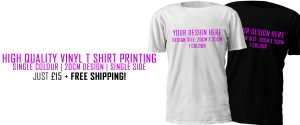 Same Day T Shirt Printing Leeds