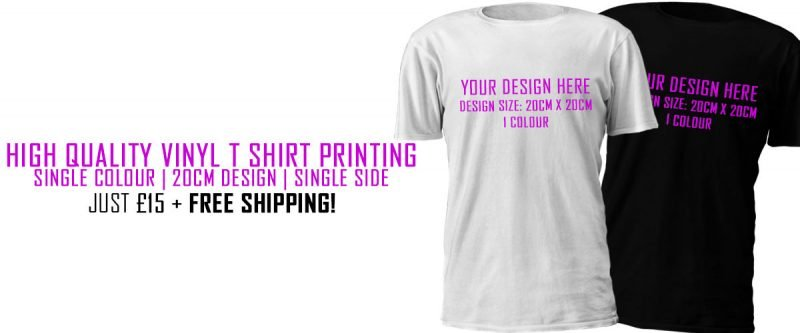 Custom T Shirt Printing | T Shirt Printing | Brand Bandits