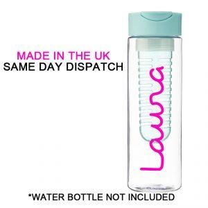 Love island water bottle