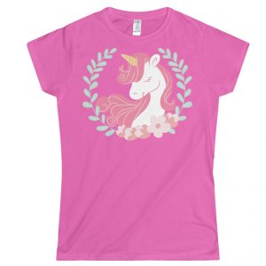 Pink Unicorn T Shirt
