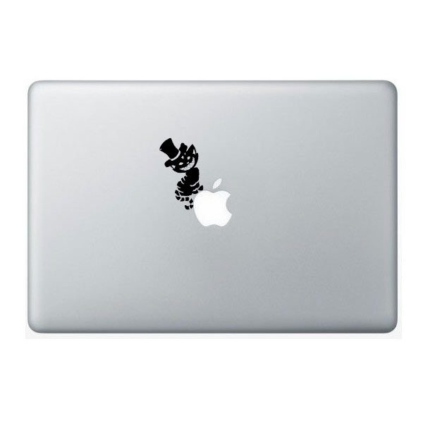cheshire cat decal