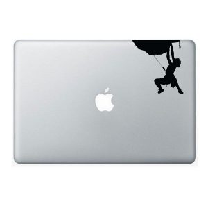 rock climber decal