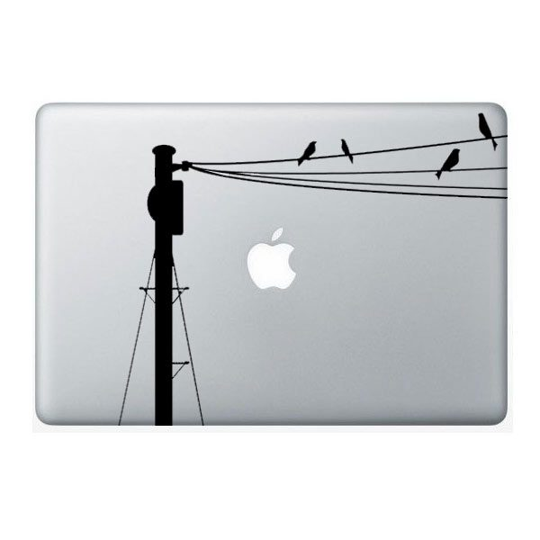 bird macbook sticker