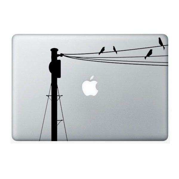 bird macbook sticker