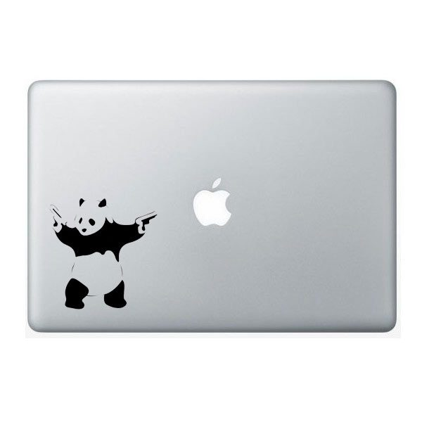 banksy panda vinyl decal