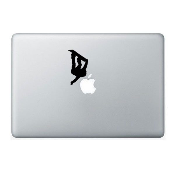 snowboarder vinyl decal
