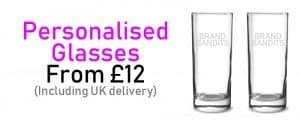 personalised glass
