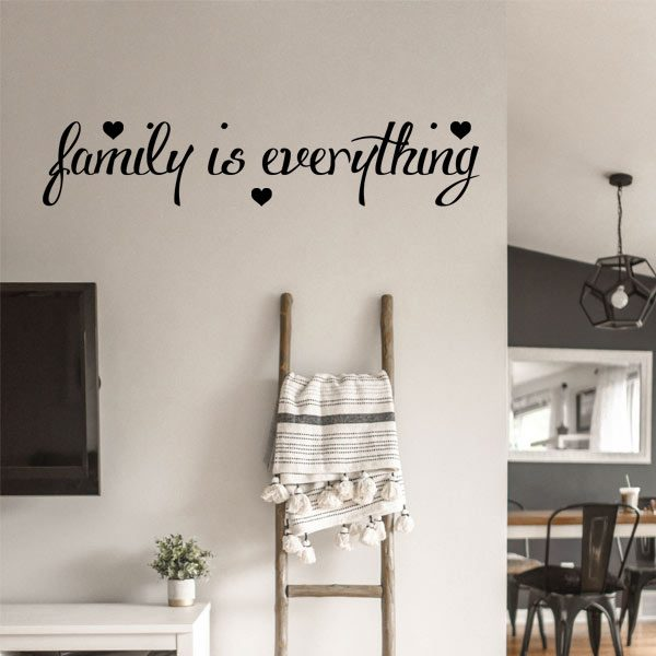 family is everything vinyl decal