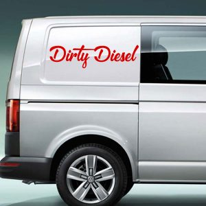 dirty diesel vinyl decal