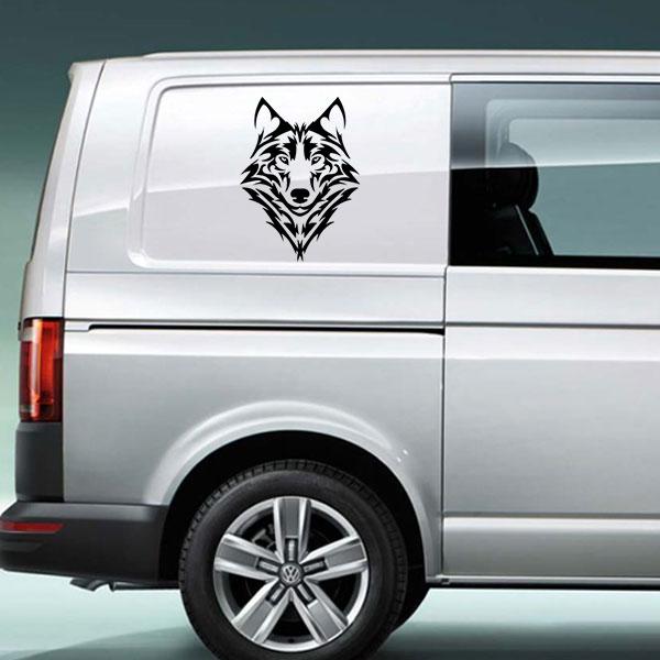 wolf vinyl decal