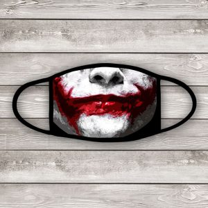 Joker smile face mask
