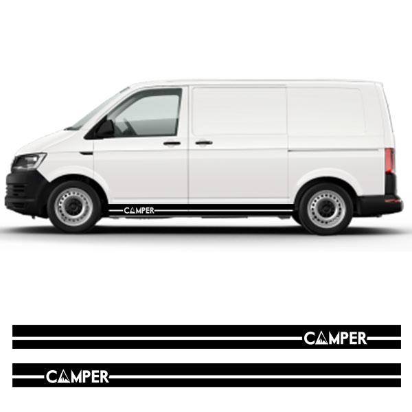 VW camper stripe vinyl decal