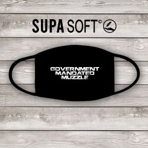 government mandated muzzle face mask