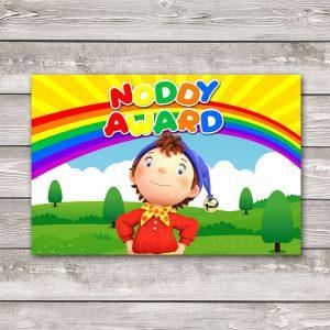 noddy award sign