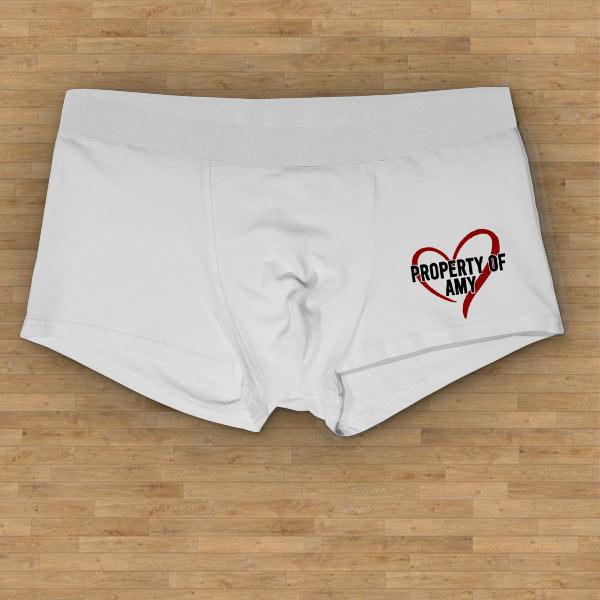 property of boxer shorts