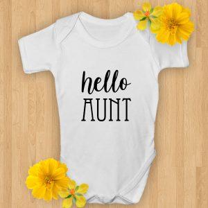 hello aunt baby grows