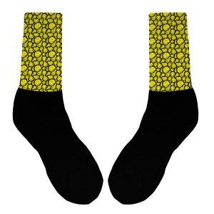 trippy smile socks